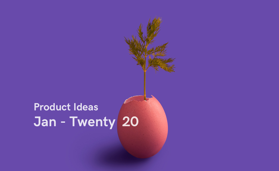 Startup Ideas from January 2020 - cover